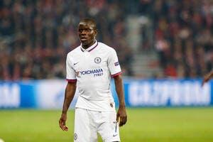 Mercato: Déçu de Chelsea, Kanté rêve d'un transfert au Real Madrid