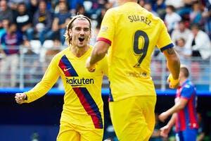 Esp : Neymar oublié, Barcelone a la GSM et c'est magique