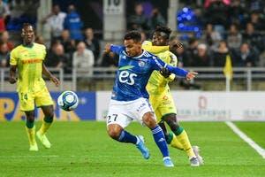L1 : Strasbourg lance sa saison en renversant Nantes