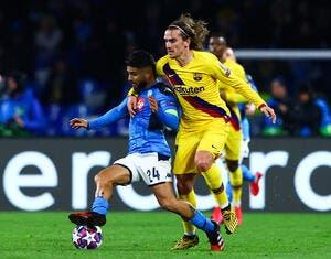 FC Barcelone - Naples : Les compos (21h sur RMC Sport 1)