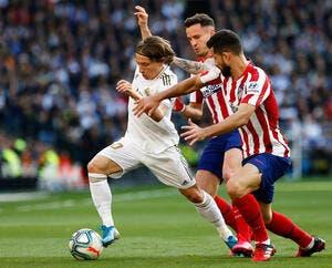 Esp : Benzema offre le derby au Real Madrid