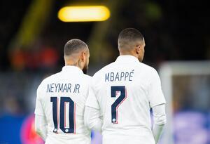 PSG : Mbappé a un avantage monstrueux sur Neymar