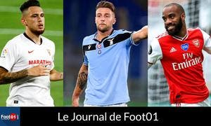 Foot01 News : Milinkovic-Savic au PSG pour 80 ME ? Lacazette sur le départ, le fight Son vs Lloris