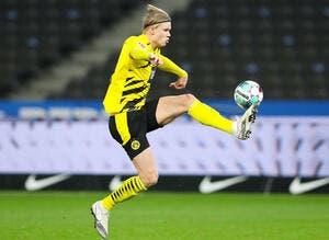 All : Haaland signe un quadruplé contre Berlin