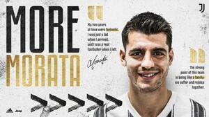Officiel : Morata signe son grand retour à la Juventus Turin