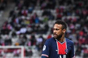PSG : Neymar touché et incertain contre Angers