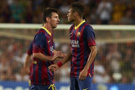 Video de foot vid o villa et neymar se r pondent en supercoupe d espagne espagne - Final super coupe d espagne ...