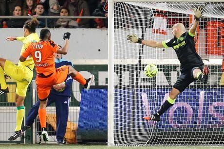 Un but sur 15 occasions, Lorient se mord les doigts