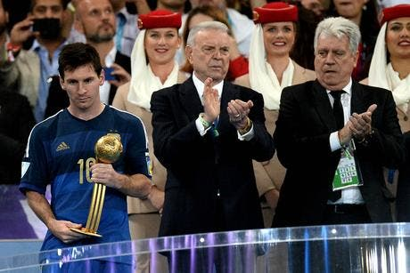Messi meilleur joueur du Mondial, Blatter toujours effaré