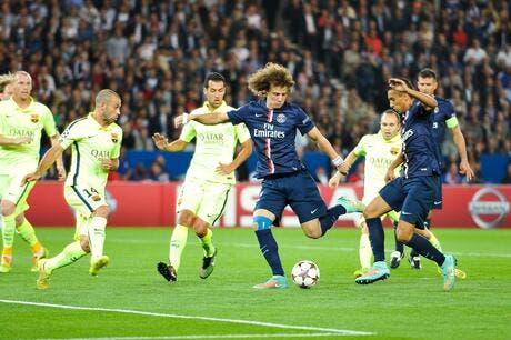 Foot psg david luiz a c est le psg ligue des - Coupe europe foot resultat ...