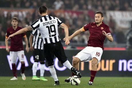 Le précieux nul de la Juventus à Rome