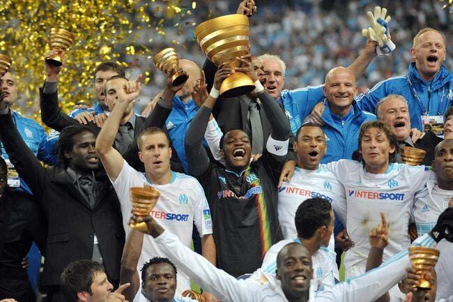 Et à la fin c'est l'OM qui gagne la Coupe de la Ligue