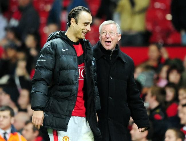 Berbatov au PSG, c'est possible selon Sir Alex Ferguson !