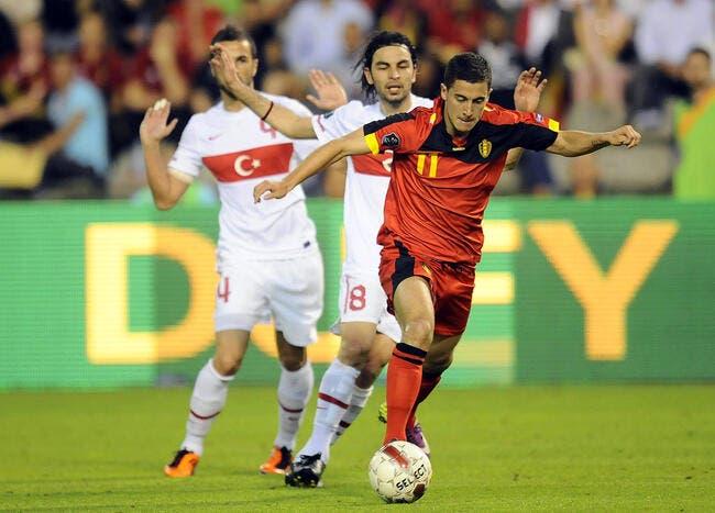 Hazard soupçonné d'avoir insulté le sélectionneur belge
