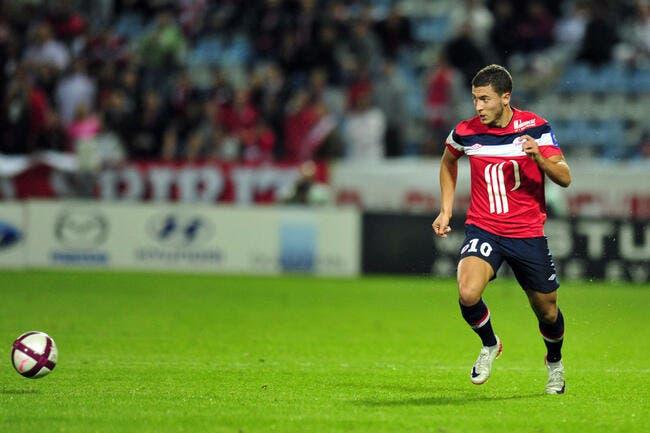 Lille demande 30 ME à Arsenal pour Hazard