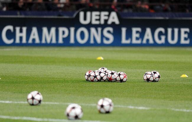 Les chapeaux avant le tirage au sort de la Ligue des Champions