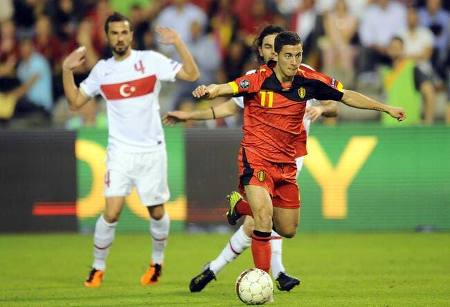 Eden Hazard fait son retour en sélection belge