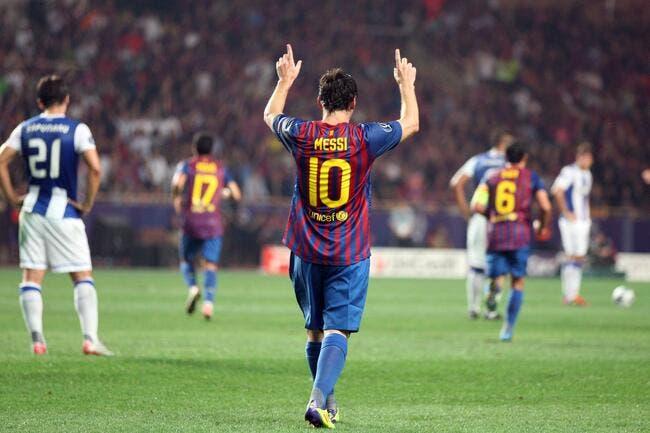 Messi et le Barça s'offrent une Supercoupe de Porto