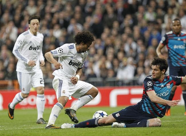 L'OL ne fait pas rigoler le Real Madrid