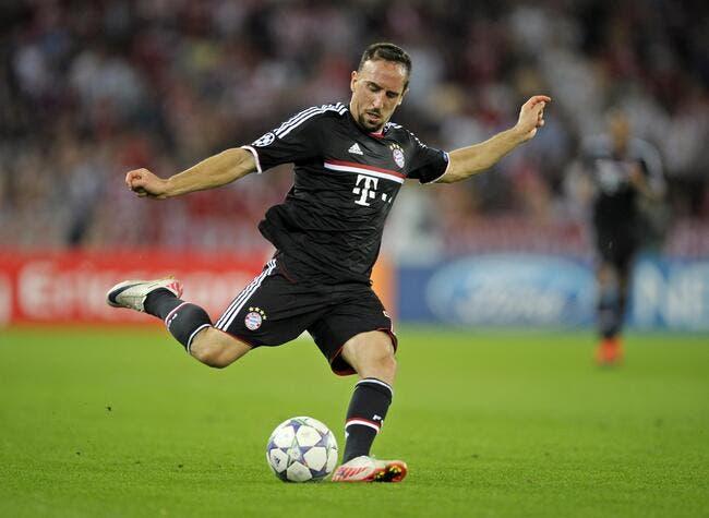 Chelsea offre 34ME pour Ribéry !