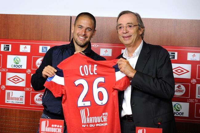 Joe Cole rêvait presque de jouer à Lille