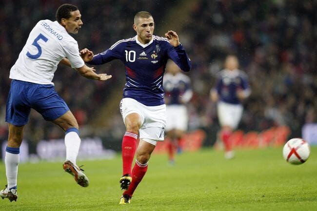 L'Angleterre met la France dans les outsiders pour l'Euro 2012