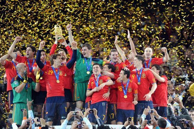 Foot mondial l 39 espagne quipe de l 39 ann e 2011 la france - Logo equipe de foot espagne ...