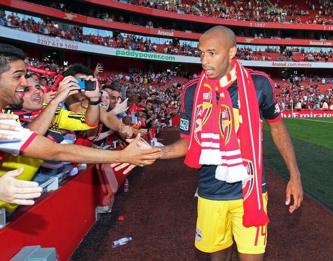 Thierry Henry est OK pour rejoindre Arsenal