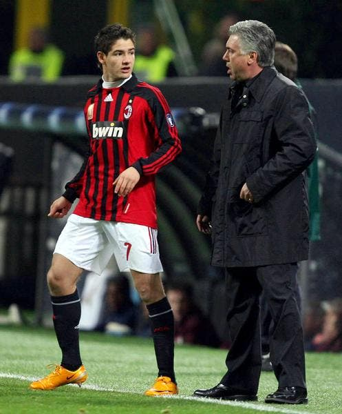 Pato a contacté Ancelotti… pour le féliciter