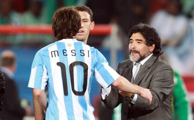 Maradona défenseur sans limite de Messi