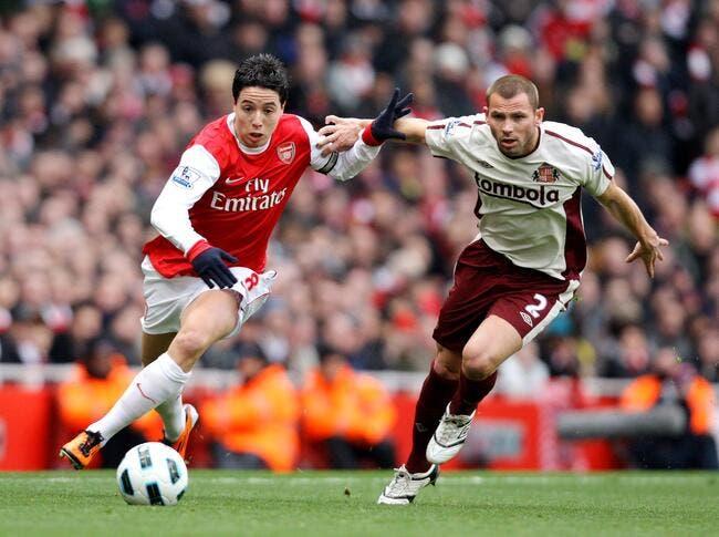 Nasri est désormais parti pour rester à Arsenal