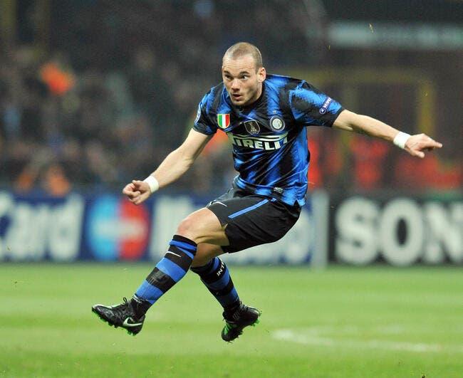Sneijder se rapproche un peu plus de Man Utd