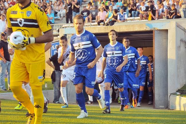 Bastia premier leader de la Ligue 2