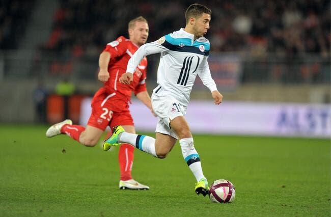 Le Milan AC a prévu de s'aligner sur Hazard