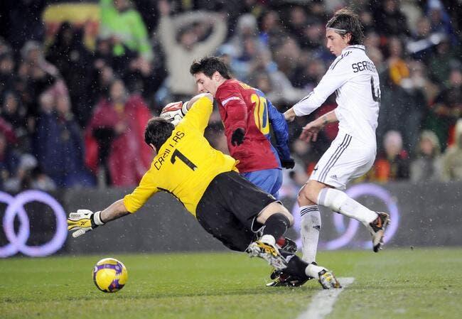 Casillas, la victime préférée de Messi