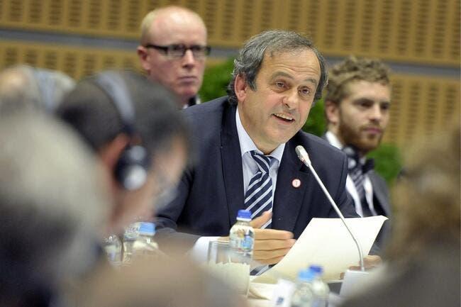 Platini se fait traiter de « bouffon » par le président de Sion