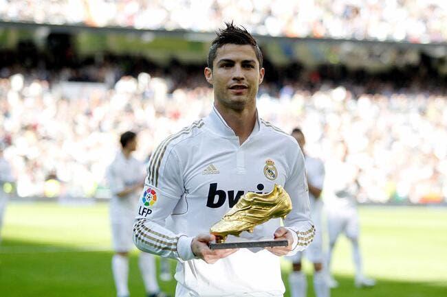 Cristiano Ronaldo a fait honneur à son Soulier d'Or