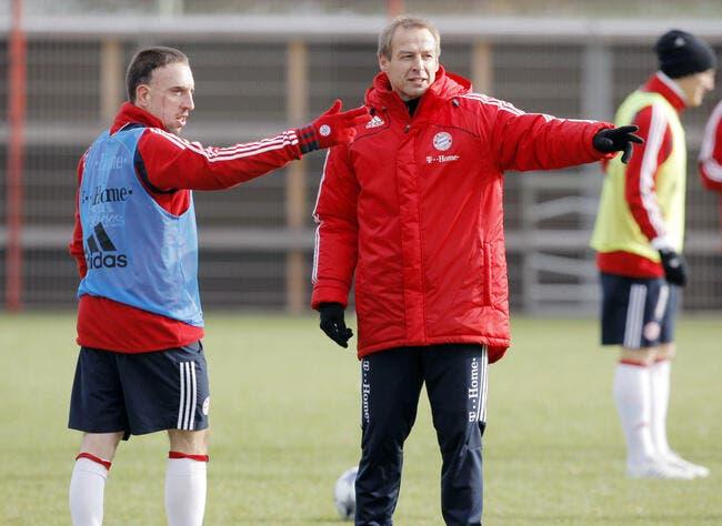 Ribéry est fou, « mais dans le bon sens » pour Klinsmann