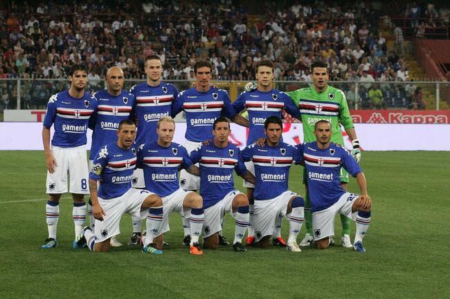 La Sampdoria s'enfonce et vire son coach