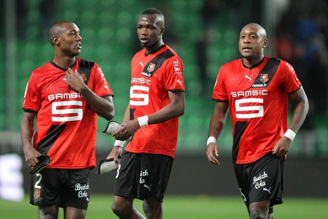 Rennes, c'est le top en défense avec l'OM pour Kana-Biyik