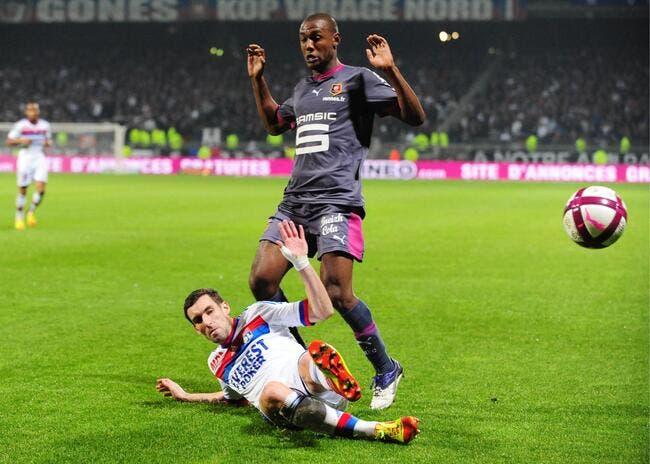Rennes coule Lyon, Toulouse touche Lille