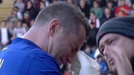 Photo du jour : Shay Given effondré après l'annonce du décès de Gary Speed