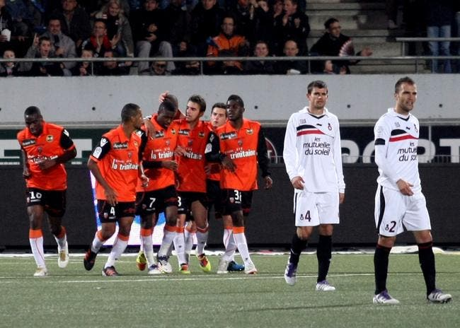 Trois points, « c'est confortable » pour Lorient