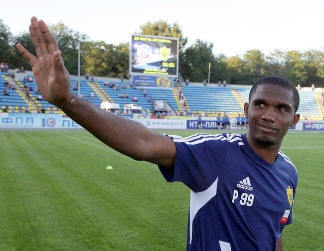 Eto'o connaît « des grands joueurs » tentés par l'Anzhi Makhatchkala