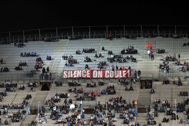 Photo : Le Vélodrome toujours silencieux à l'OM