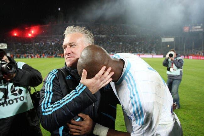 L'OM gagne et Mbia félicite Deschamps