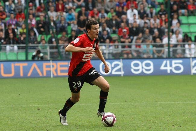 Toucher le ballon, c'est l'objectif de Rennes à Toulouse