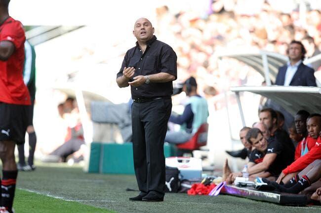 Le groupe du Stade Rennais face à Udinese