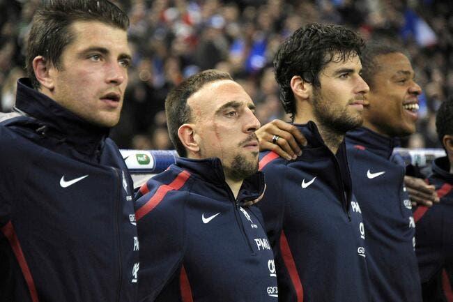 Blanc est certain que Gourcuff et Ribéry ne se sont pas battus en 2010