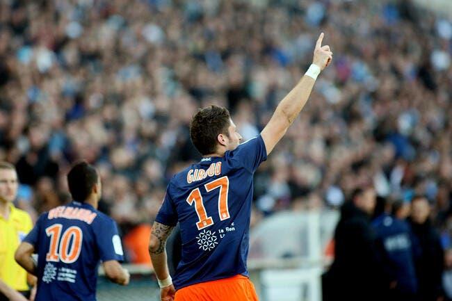 Giroud n'est plus certain de rester à Montpellier, même champion